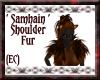 {EC}Samhain Shoulder Fur