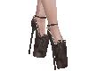 Black Glass Heels