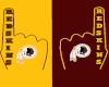 Redskins Foam Finger