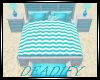 Blue Beach Bed