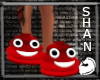Red Poo Shoe