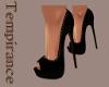 {TMP} Silky Black Heels