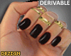 D. Nails Black DRV