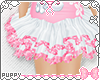 [Pup]Pink and White Tutu
