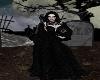 dark queen gown