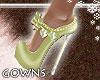 heels - sage