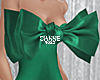 Bow dress Emerald
