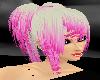pink & white ozumi hair