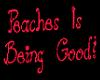 (DC) PEACHES IS GOOD