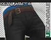 Black/Blue Skinny Jeans