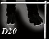 D Black Western Boots