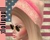 . Cute Pink Beanie