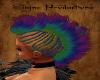 Drk Rainbow Mohawk