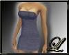 ~L~Blue Jean Tube Dress