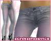 Grey/Pink SkinT Jeans