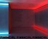 Neon Dark Hallway