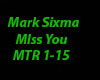 Mark Sixma - miss you