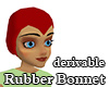 Derivable Rubber Bonnet