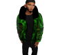 anim. green smoke coat