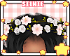 シ flower crown
