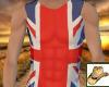 UK Pride Flag Tank sheer