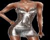 Silver Glitter Dress