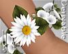-V- Flower Bracelet R