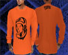 (C)BBC orange longsleeve