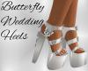 Butterfly Wedding Heel W