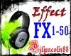 ~DJ EFFECT FX 1-50~