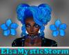 Vic Blueflora Ponytails