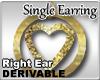 Chunky Gold Earring