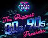 80's vs 90's poster