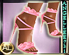 SHOES PINK LACE