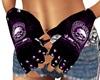 Purple Harley Gloves