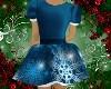 Kid Blue Xmas Dress