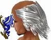 Silver Grey Hat Hair