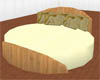 8 pose bed in cream