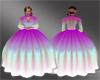 -SWD- Aurora Purple Gown