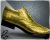 Gold Holiday Dress Shoes
