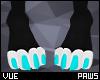 V e Blue Paws 1 F