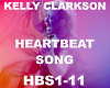 Kelly-Heartbeat Song