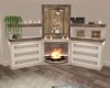 Soft Corner Fireplace