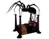 HALLOWEEN SPIDER BED