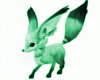 Green Kitsune Fox