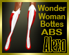 Wonder Woman Boots ABS
