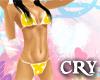 Cry - Dot Yellow Bikini
