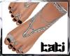 lTl Feet Chain Silver 2