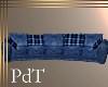 PdT Blue Cuddle Sofa