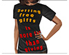 Getting Free Gifts Shirt